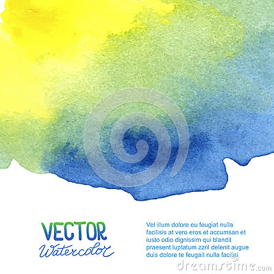 Free Abstract Watercolor Background For Your Design Stock Image - 45589341