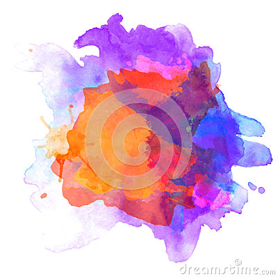 Free Abstract Watercolor Palette Of  Grange Color, Royalty Free Stock Photo - 36814075