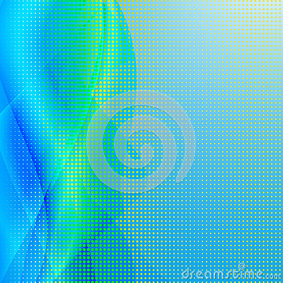 Abstract wave color design element .