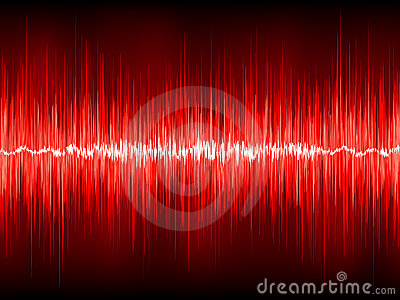Abstract waveform  background. EPS 8