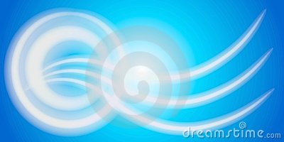Abstract Wavy Lines Circles 2