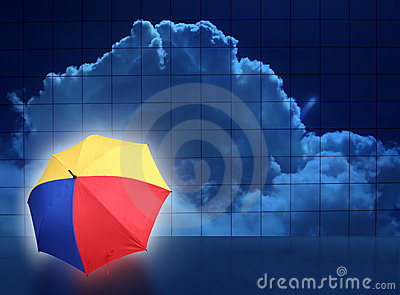 Abstract weather puzzle