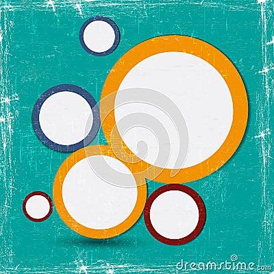 Abstract web design bubble