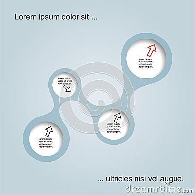 Abstract web design. Vector