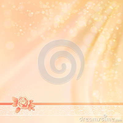 Abstract Wedding Fabric Background Design