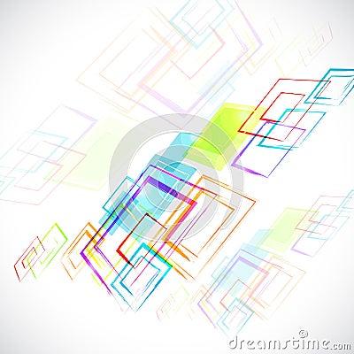 Abstract white background, grunge rhombus