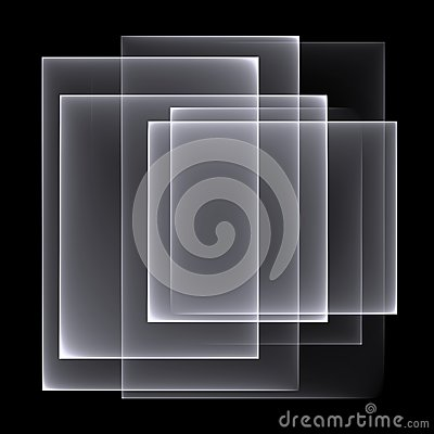 Free Abstract White-black Background Pattern. Bright White Lines On The Black Background. Stock Photos - 49308043