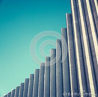 Free Abstract White Concrete Architecture Stock Photo - 119725690
