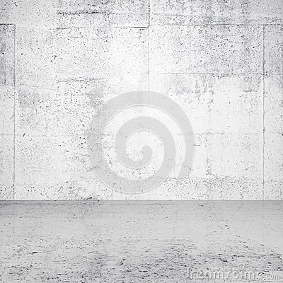 Abstract white empty interior