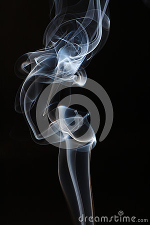 Abstract white smoke.