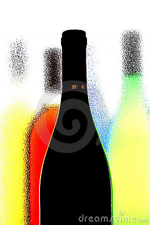 Abstract Wine Background Stock Photo