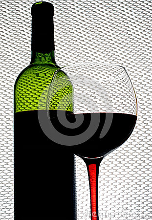 Abstract Wine Background Design