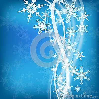 Abstract winter design