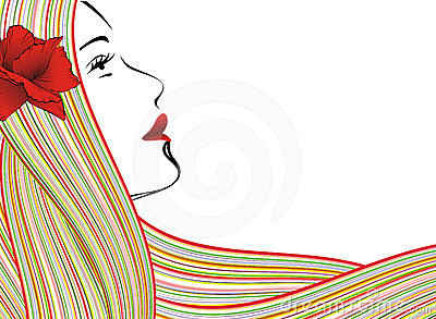 Abstract Woman Face Stock Photography - Image: 24386832