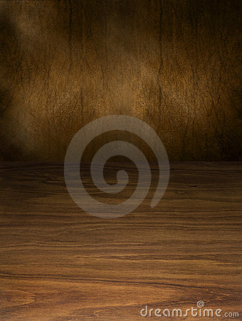 Abstract Wood And Brown Background