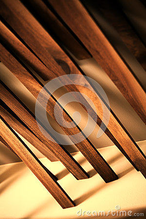 Abstract wood planks
