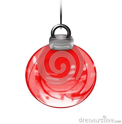 Abstract xmas ball