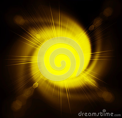 Free Abstract Yellow Background Royalty Free Stock Image - 33261756