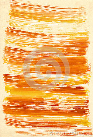 Abstract yellow background from watercolor