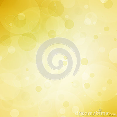 Free Abstract Yellow Background With Bokeh Bubble Lights And White Center Copyspace Royalty Free Stock Photo - 59418595