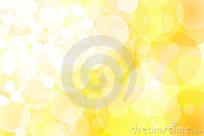 Abstract yellow lights