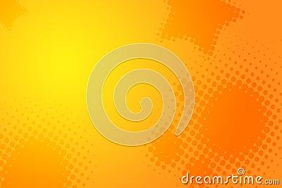 Abstract yellow orange background