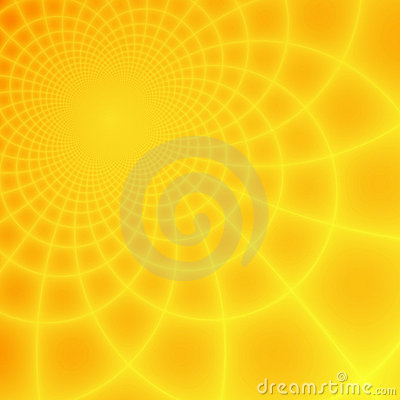 Free Abstract Yellow & Orange Fractal Background Stock Photo - 10431500