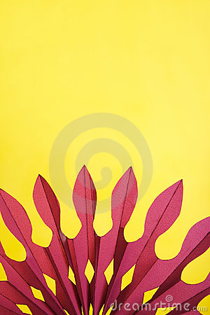 Abstract yellow and purple paper background