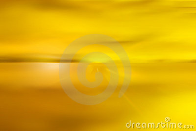 Abstract yellow sky