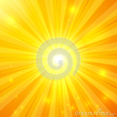 Free Abstract Yellow Vector Sunny Background Royalty Free Stock Photography - 36265357