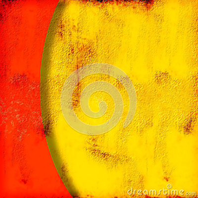 Free Abstract Yelow  And Red Background Royalty Free Stock Image - 45019936