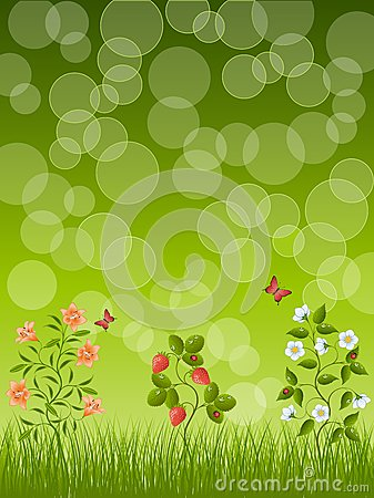 Abstracte bloemenachtergrond