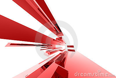 Abstracte glaselementen 039