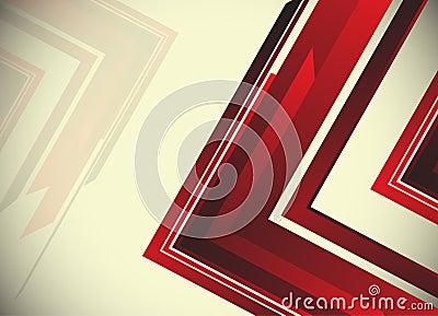 Abstracte hi-tech achtergrond