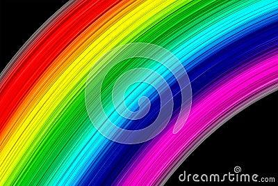 Abstracte Regenboogkleuren Royalty-vrije Stock Afbeeldingen - Beeld: 14032119