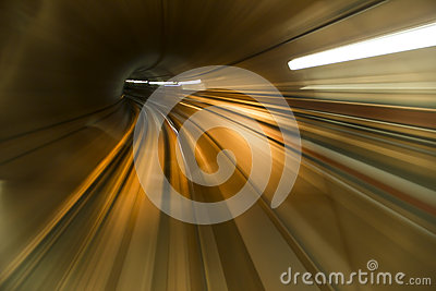 Abstracte tunnel