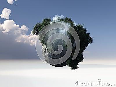 Abstracte wereld
