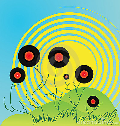 Abstraction, background, disco, disk, dj, greens,