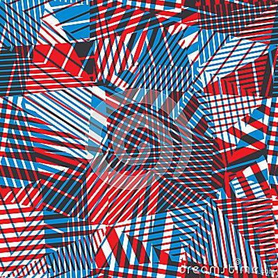 Abstraction g om trique sans couture illustration de for Abstraction geometrique
