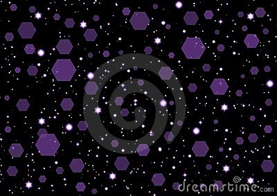 Abstraction starry background