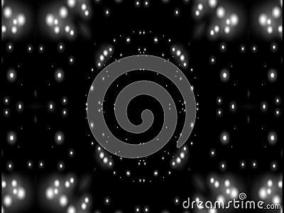 Abstrakci czarny i biały gwiazda zbiory wideo