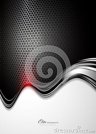 Abstrakcjonistyczna tła czerń technologia