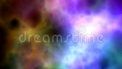 Abstrakcjonistyczne kolor chmury royalty ilustracja