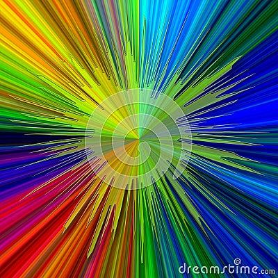Abstrakcjonistycznego jasno tła neon