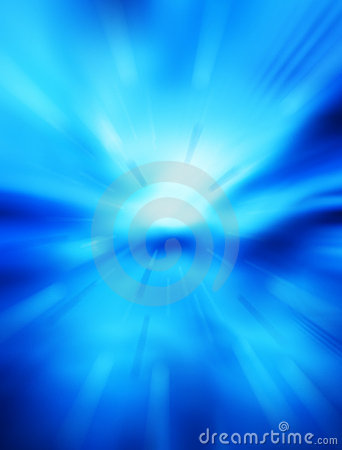 Abstrakcjonistycznego tła błękitny futurystyczna przestrzeń