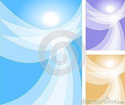 Abstrakcjonistyczny anioła eps duch