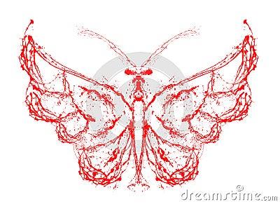 Abstrakcjonistyczny motyl