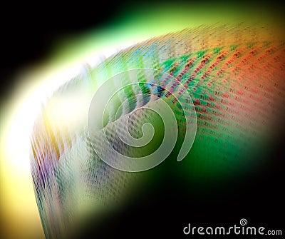 Abstrakt bakgrundssoftness