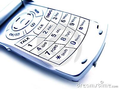 Abstrakt cell- isolerad telefon