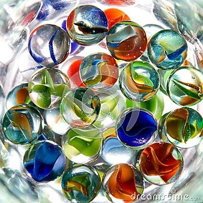 Abstrakt exponeringsglas